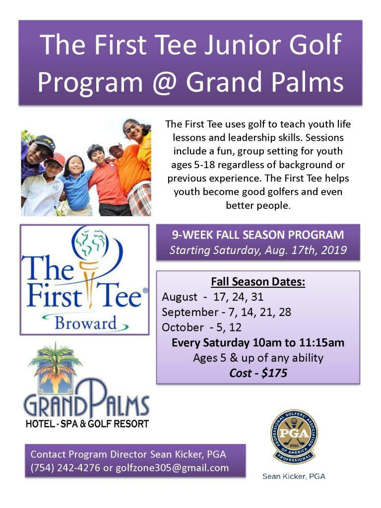 The First Tee Junior Golf Program
